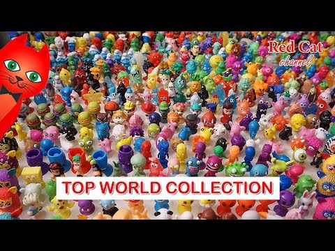 TOP WORLD STIKEEZ COLLECTION | МИРОВАЯ ТОП КОЛЛЕКЦИЯ СТИКИЗОВ ПРИЛИПАЛ И БОНСТИКОВ от Red Cat.