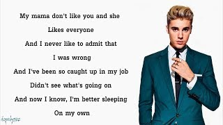 Download Lagu Justin Bieber - Love Yourself (Lyrics) Gratis STAFABAND