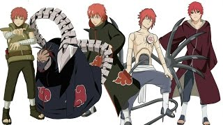 Naruto Character Evolution: Sasori Of The Red Sand