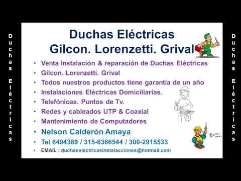 Duchas Eléctricas Gilcon en Bucaramanga Tel 6185261/300-2915533/315-6366544/313