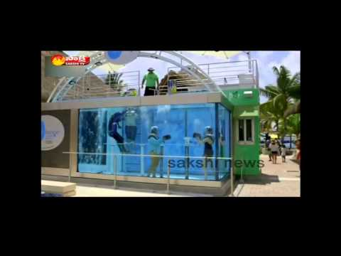 Underwater bar opens in Mexico