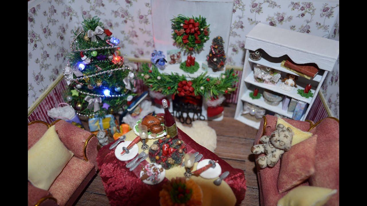 Новогодние украшения для кукол своими руками 62