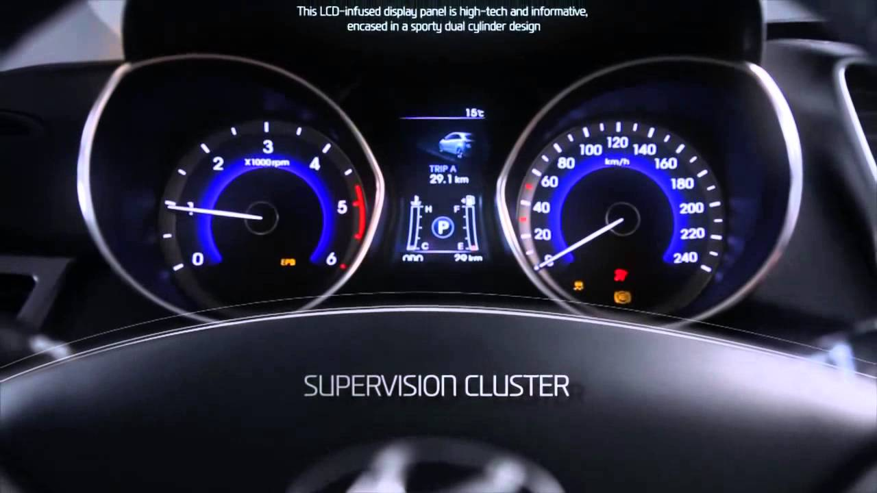 Novo I30 Hyundai I30 Interior 2013 Youtube