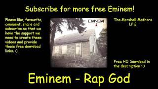 download lagu Eminem - Rap God  + Free Download gratis