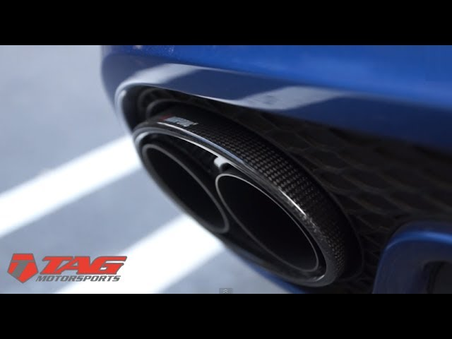 Akrapovic Audi RS5 Exhaust | TAG Motorsports - YouTube