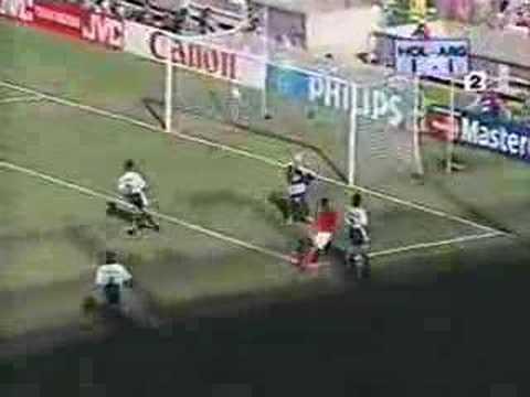 Dennis Bergkamp Holland vs Argentina Goal