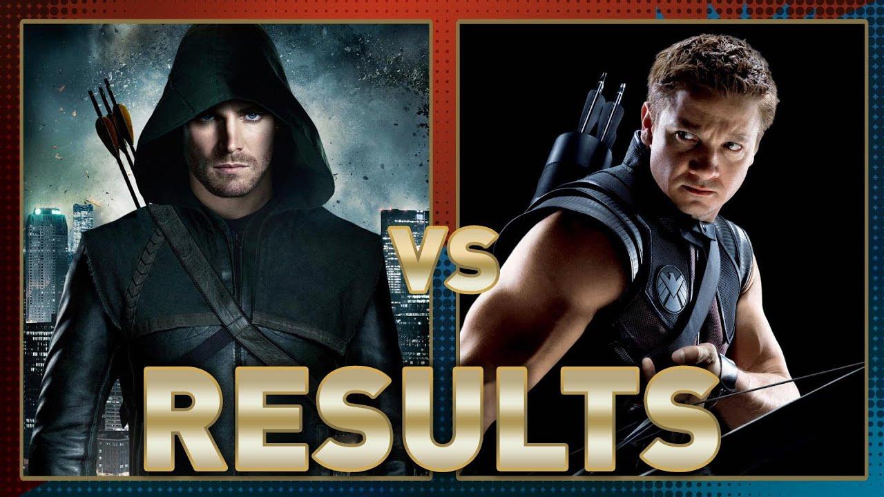 Green Arrow vs Hawkeye Fanboy