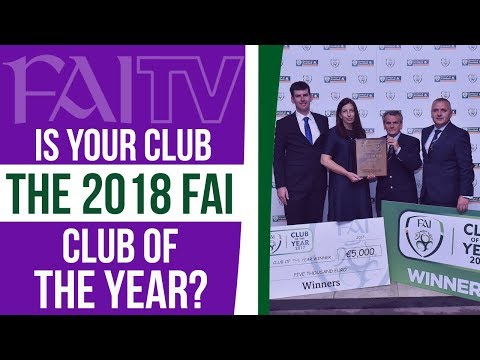 Is your club the 2018 FAI CLUB OF THE YEAR?