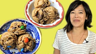 DIY Toll House EDIBLE Cookie Dough Recipe - Chocolate Chip & Monster
