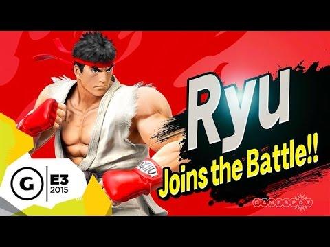 Ryu Mechanics Official Breakdown - Super Smash Bros. E3 2015
