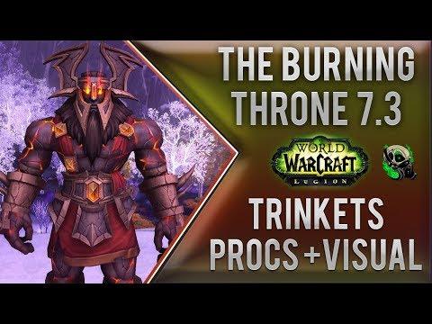 Antorus Burning Throne Trinkets- Proc Rate, Uptime and Damage - World of Warcraft 7.3