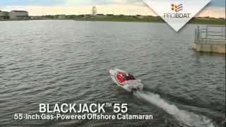 Blackjack 55 Catamaran BND with G26 by Pro Boat