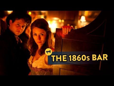 The 1860s Bar - Epic Time Travel Prank! video