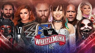 WWE WRESTLEMANIA 36 | DREAM MATCH CARD