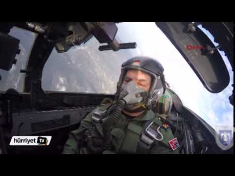 Orgeneral Akın Öztürk, F-4E 2020 ile uçtu