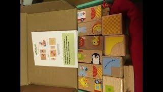 MEIGO Toddler Toys -l Dominoes Shape Puzzle Matching Game Building Blocks (32PCS)