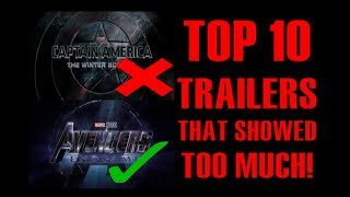 Top 10 Movie Trailers that Showed Too Much