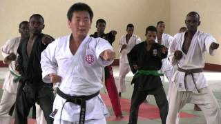 Shito-ryu karatedo seminars at Pemba Island