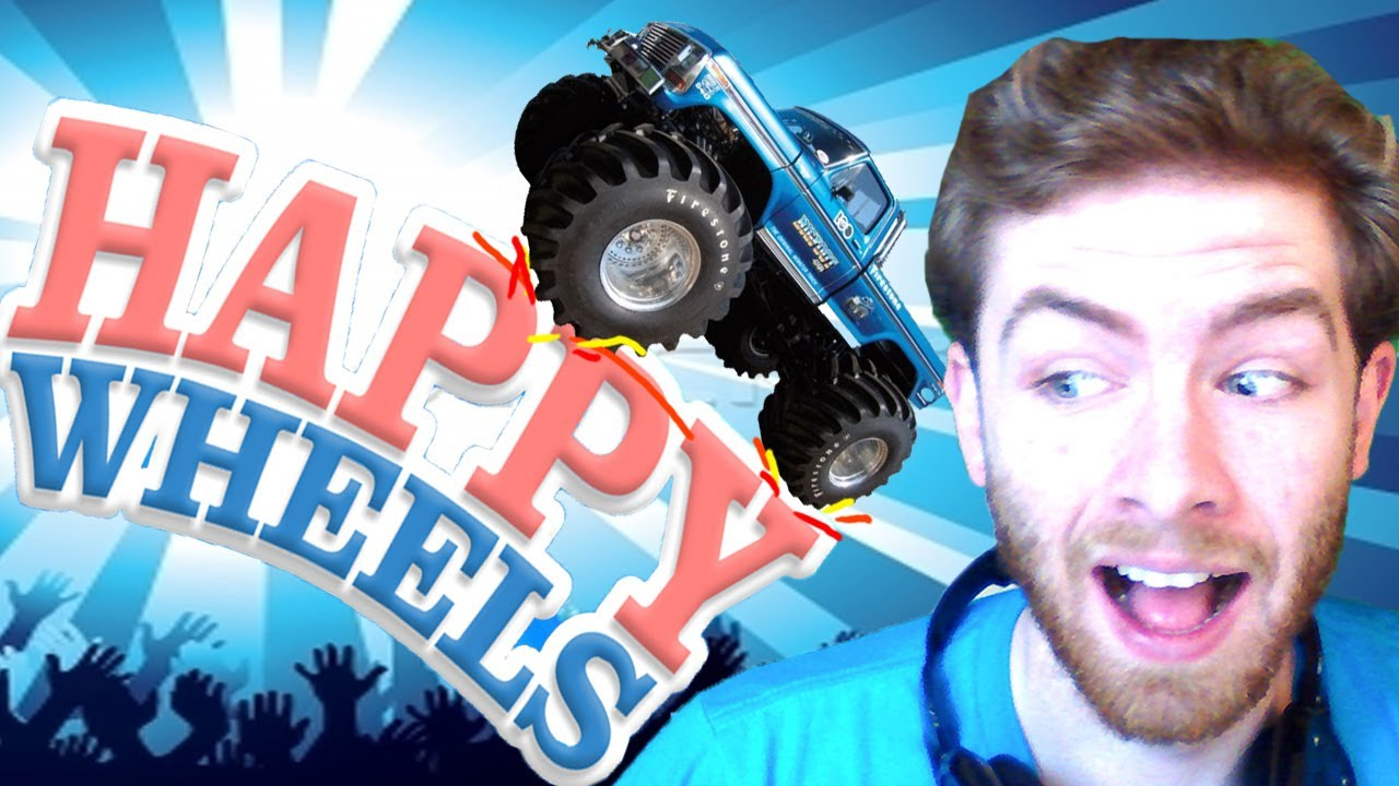 how to make a happy wheels level