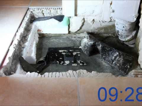 Bodenablauf Kellerablauf  250 x 250 mm DN 100 110 Abfluß Ablauf Keller Garage
