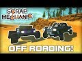 Off Road Suspension, Trophy Truck and Field Car! (Scrap Mechanic #163)
