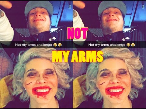 Not My Arms Challenge! (bf Does My Makeup) video
