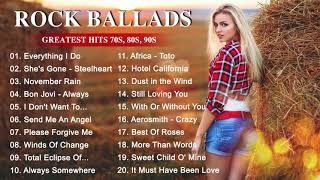 Rock Ballads 80s 90s - Best Rock Music of The 80s 90s Playlist