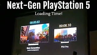 PS5 - Everything You Need to Know - Next-Gen PlayStation 5 Spec - Insanely Fast Loading Time!