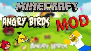 Mods de Minecraft - Angry Birds Mod