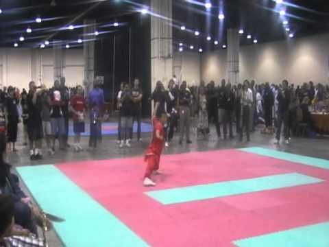 2011 US Capitol Classics China Open - Wang Ende 武術 長拳