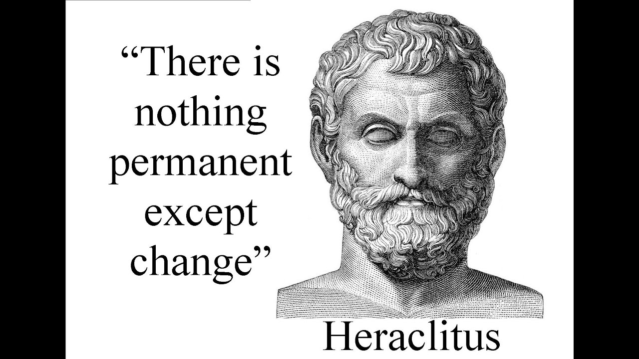 essay on heraclitus Heraclitus bustadditionally, there is no beginning er, i was going to quote this essay for a wikipedia article, because i believe in reliable sources.