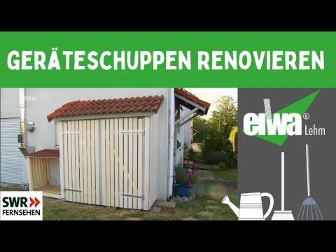 Geräteschuppen Renovieren!!!  Wind- & Wetterfest