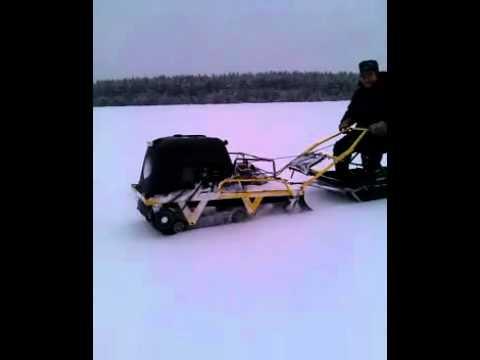миниснегоход рыбак 2мр меткон
