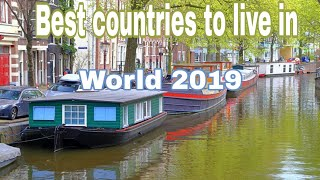 Top 10 best countries to live in the World 2019