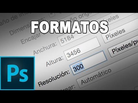 Formatos, resoluciones y métodos para guardar fotografías - Tutorial Photoshop en Español