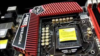 Asrock Fatal1ty P67 Professional Series Motherboard Unboxing & First Look Linus Tech Tips