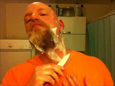 Kyocera Ceramic Knife Vs. Full Beard (the Worlds Second Ceramic Shave Video) video
