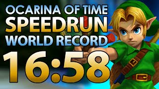 Ocarina of Time Any% speedrun in 16:58 by Torje [World Record]