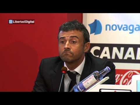 Luis Enrique presentado como entrenador del Celta: