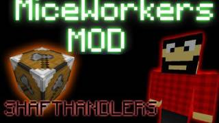 Minecraft: Mice Workers Mod (Mice Lumberjack)