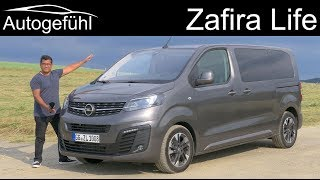 All-new Vauxhall Opel Zafira Life FULL REVIEW - a clever budget alternative to the VW Multivan?