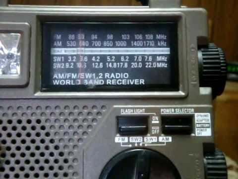 Grundig FR-200 Recycle Power World Band Radio Review