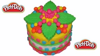 The leaves of The Play Doh Cake