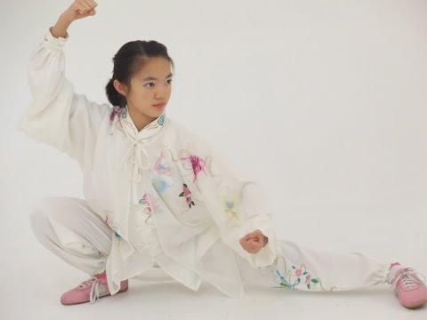 Ho Lin Ying Singapore's World Champion in Tai Ji Quan CNY Demo