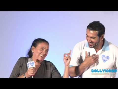 John Abraham & His Mom Firoza Irani Share Moments At The Basketball Court