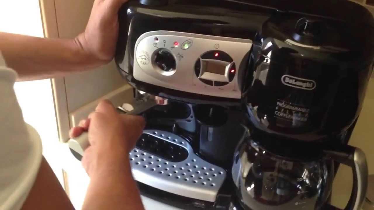 Delonghi Coffee Maker Youtube