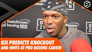 KSI drops confident prediction ahead of rematch with Logan Paul | KSI v Logan Paul 2