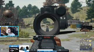 Shroud Kills The Entire Population Of Military Island! - Playerunknown