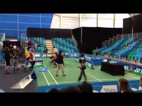Final Badminton Canada Open 2013 #disqualified