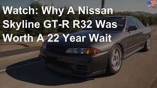 Why this Nissan Skyline GT-R R32 was worth a 22 year wait